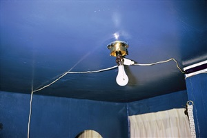 untitled [blue ceiling] by william eggleston